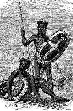 Mujeres-guerrero azande