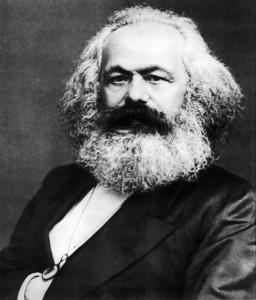 Retrato de Carlos Marx, de John Jabez Edwin Mayall